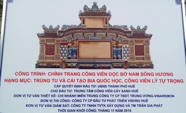 Image result for Bia Quốc Học photos