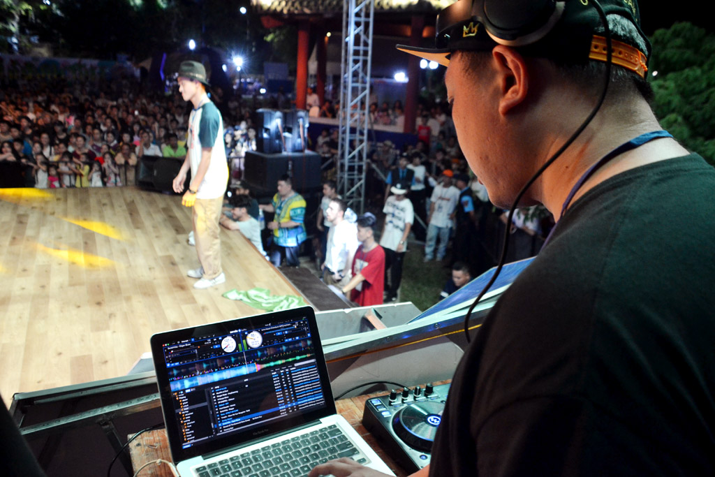 DJ plays an indispensable role in hip-hop festival