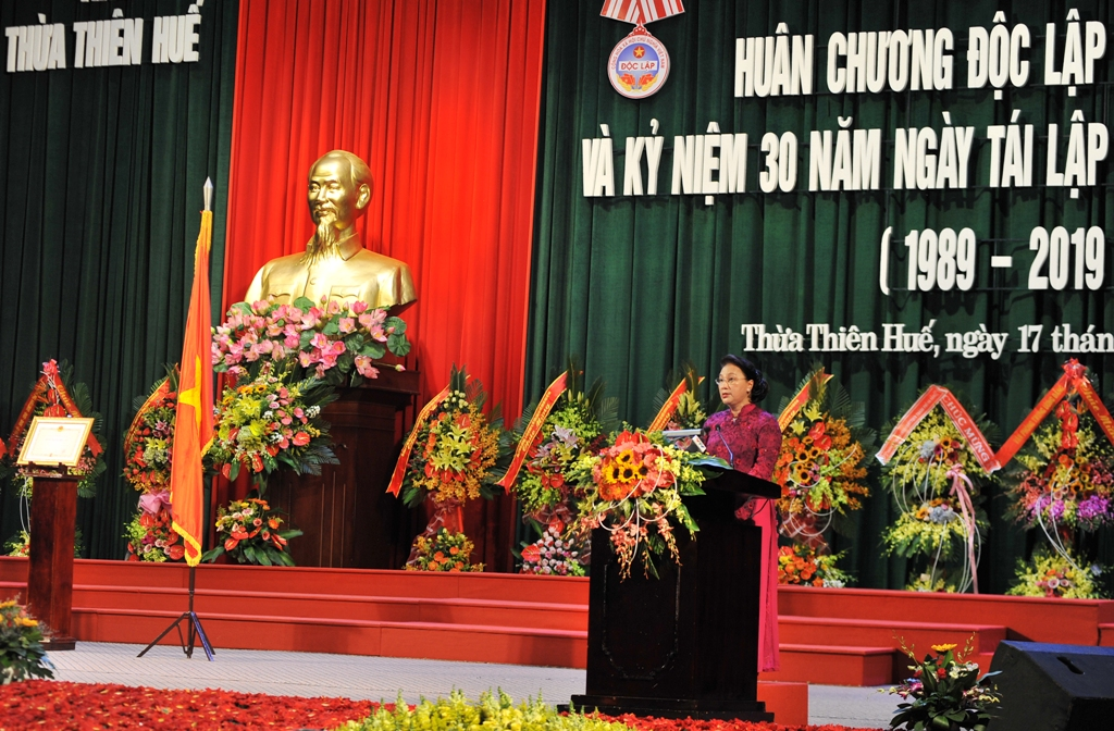 Continuing to build Thua Thien Hue to become a