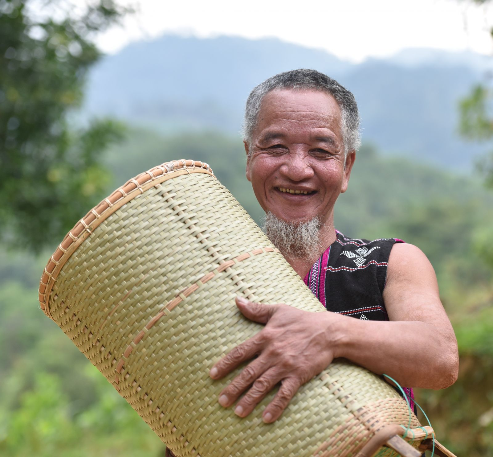 Joy with the handmade products