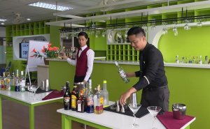 Young people love bartender profession