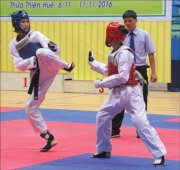 "Năm ""vàng"" của Taekwondo Huế"