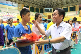Nearly 150 athletes participate in National Junior Badminton Championship