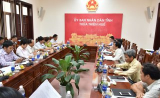 Delegation of Planning and Investment Ministry works with the province