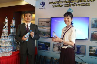 Strengthening ties in water supply sector with Japan