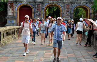 Visitors to Hue increase by 27.24% in July