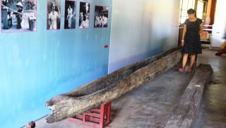 Dug-out canoe - a precious artifact