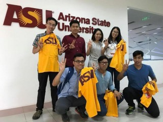 Three students of Hue University of Education receive scholarships at Arizona State University