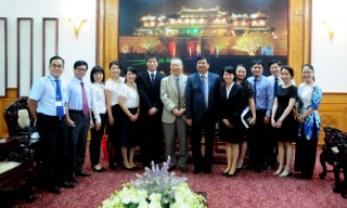 Co-operating to develop teaching Japanese in schools in Thua Thien Hue