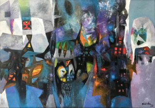 Southern Central - Central highland exhibition of Fine Art 2017: Different shades