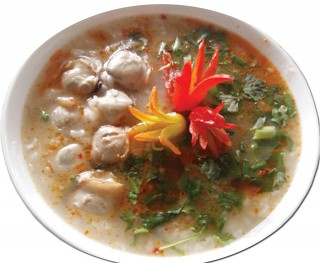 Tam Giang clam congee