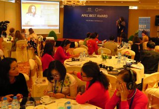 APEC Business Efficiency and Success Target Award: Inspiring women to do business