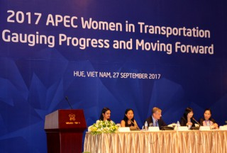 Encouraging women to participate in transportation