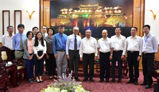 Thailand's Banpu Group researches investment in energy development projects in Hue