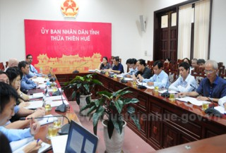 The working group of Asian Development Bank works in Thua Thien Hue province