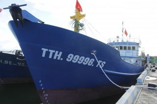 Thua Thien Hue: The third VND 18 billion steel shell vessel launched