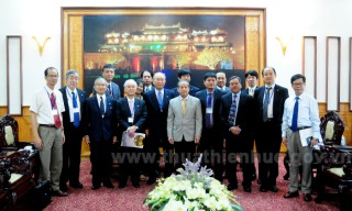 Japanese People's Diplomacy Promotion Council works in Hue
