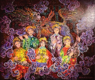 Special impression of artists from Hue