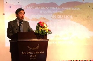 "Launching the ""Vietnam Guidebook - Hue"""