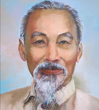 Uncle Ho in the eyes of artists