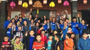 Cruise members visit children with disabilities in Hue city