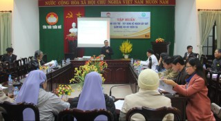 Capacity building training on emergency response and fundraising