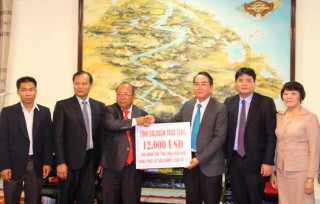 """Vietnam-Laos special tie gets increasingly stronger"""