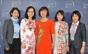 Hue University of Medicine and Pharmacy Assoc. Prof. Dr. Nguyen Thi Hoai honored as the 2017 excellent female scientist