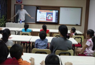 A boom in English classes for children