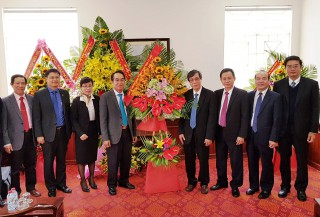 Provincial leaders congratulate medical institutions on the occasion of the Vietnamese Doctor's Day