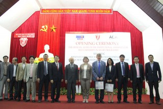 Official audit of the institutional assessment of Hue University