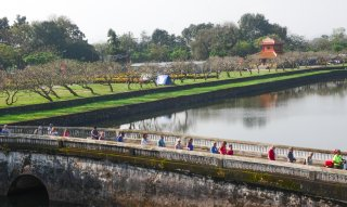 The number of international tourists to Hue in the first two months doubles compared to the same period last year