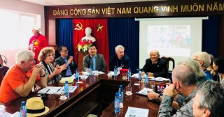 U.S. veterans visit T.T. Hue to explore war legacy and promote joint efforts