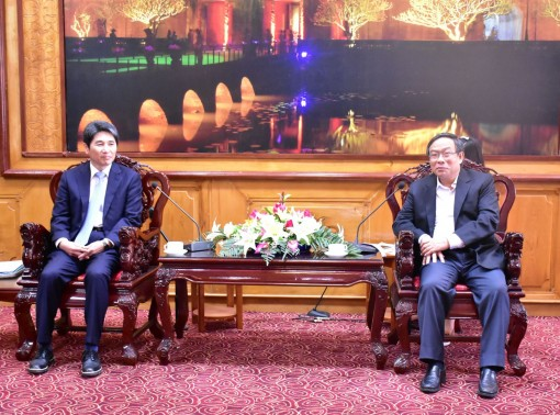 GS Group from South Korea wants to build a solar power project in Chan May - Lang Co