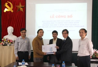 Announcing the construction planning of school and practical hospital of Hue University of Medicine and Pharmacy