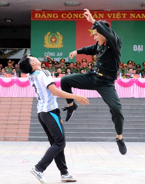 """961 athletes compete at the 7th """"Strong for National Security"""" sports festival"""