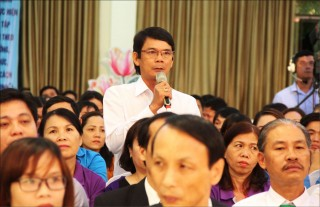 Provincial leaders in dialogue with workers: Many issues were shared, proposed and resolved