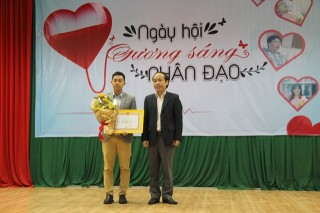 Honoring the teams, individuals with excellent achievements in blood donation