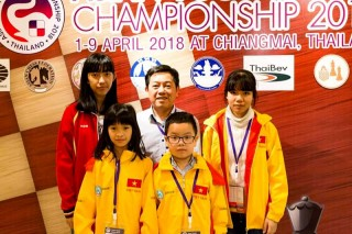 Hue Chess team wins 4 gold medals, 3 silver medals at Asian Youth Chess Championship