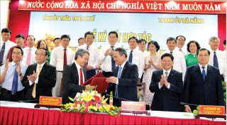 Agreement on cooperation between Thua Thien Hue and Da Nang city