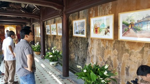 Poetry on Hue royal architectural works inscribed on Truc Chi