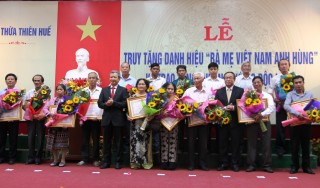 108 more mothers awarded Vietnamese Heroic Mother title