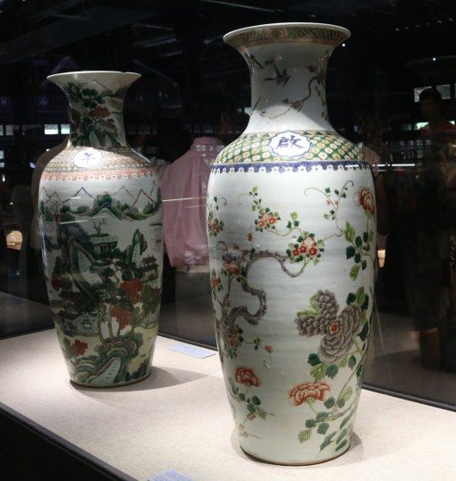 An exhibition introducing the finest ordered porcelain items