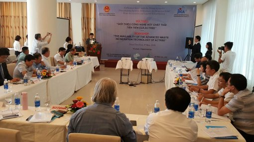 Actree waste incineration technology put into operation in Thuy Phuong