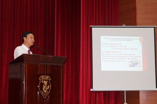"""Hue University launches """"Innovative startup ideas"""" contest"""