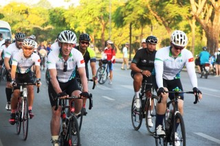 Cycling to raise funds for prevention of bindness