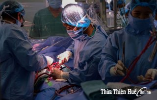 The journey of a heart transplant across Vietnam