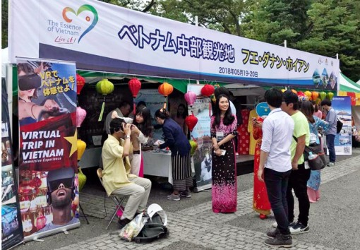 Hue participates in Vietnamese Culture Festival in Japan