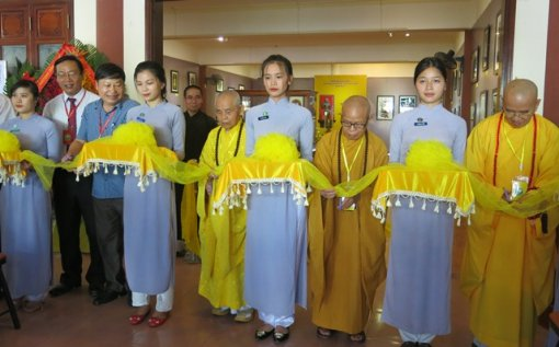 Exhibition of Buddhist statue heritage