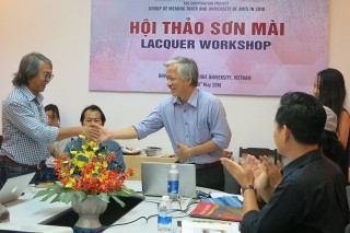 Workshop on developmental process of lacquer in Vietnam